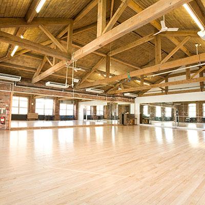 Studio at Yorkshire Dance. Photo © Jim Poyner.