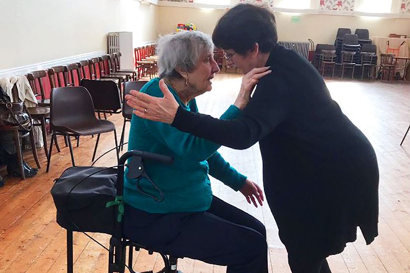 Dancing in Time - Betty and Janet 2018 Yorkshire Dance