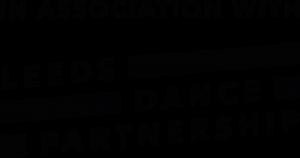 The in associaton with Leeds Dance Partnership logo
